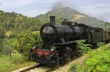 Tuscany steam engine train rides